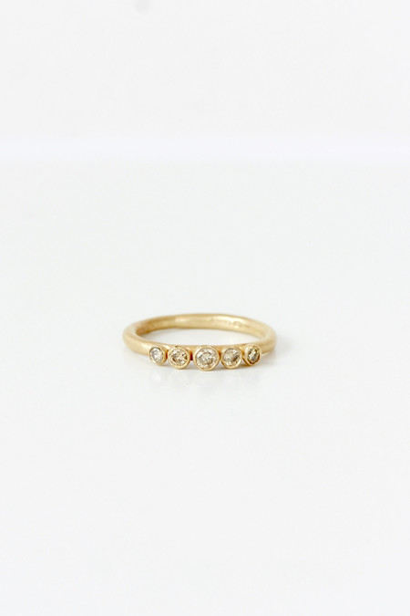 Ruth Tomlinson Five diamond ring