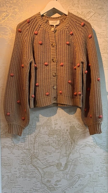 The Great. The Bobble Sophomore Cardigan