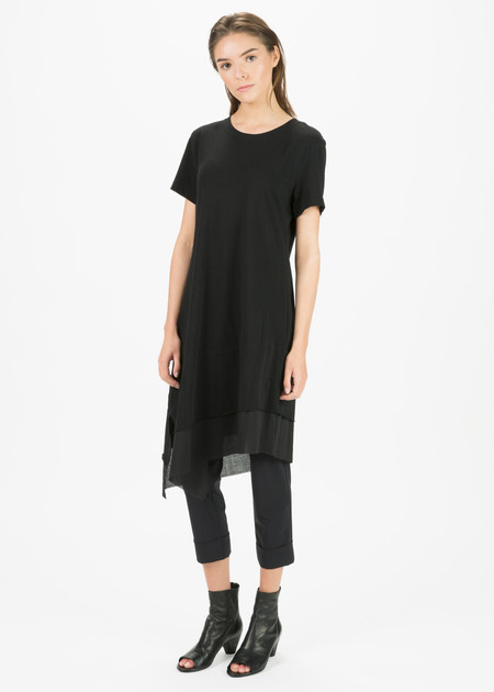 Nocturne #22 Asymmetric T-Shirt Dress