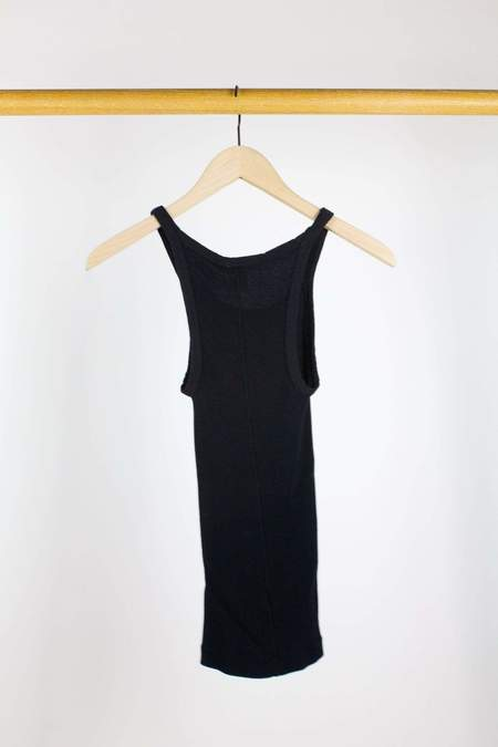 RE/DONE Ribbed Tank - Black