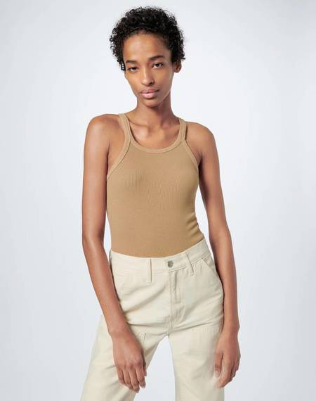RE/DONE Ribbed Tank - Sand