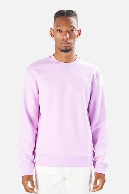 Blue&Cream Sunset Sweatshirt Sweater - Faded Lavender