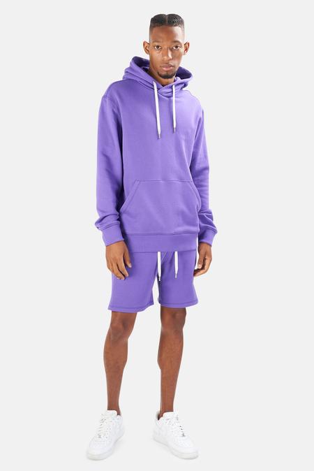 Blue&Cream Summer Club Short - Bright Purple