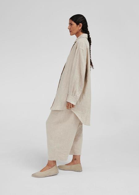 Mónica Cordera Linen Shirt - Natural