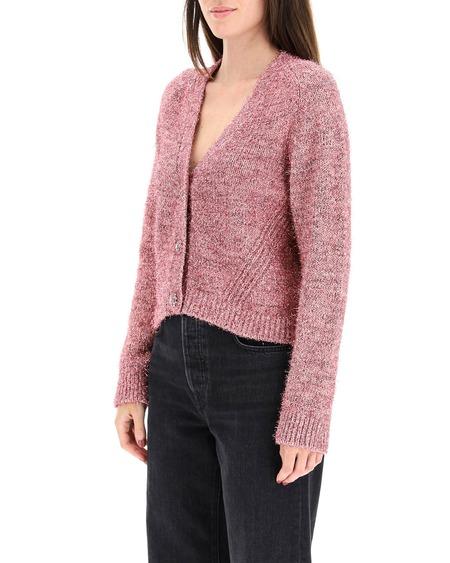 GANNI Cotton Cardigan - Pink