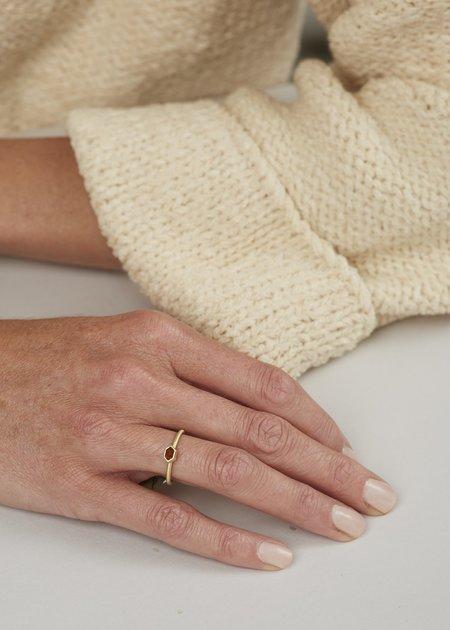 Heather Guidero Spinel Ring - Orange/Brown