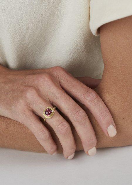 Heather Guidero Pink Tourmaline Ring - Gold