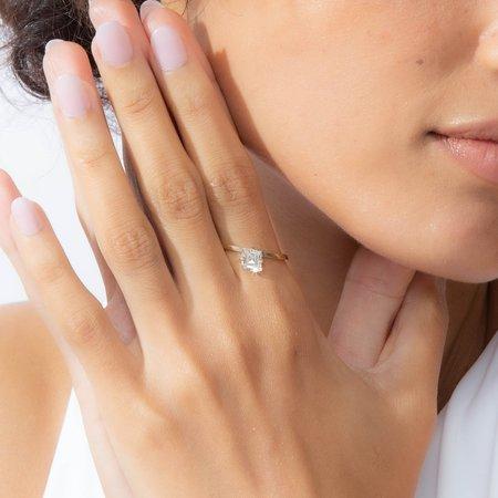 Shahla Karimi Lozenge Slant Ring