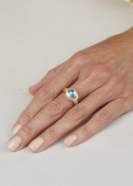 Tony Malmed Jewelry Super Moonstone Gold Ring - Gold