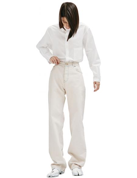 Balenciaga Loose Fit Jeans - Beige