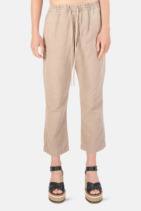 NSF LOU CROPPED TROUSER - PIGMENT RUSSET