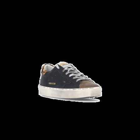 Golden Goose Hi Star Leather Upper Leo Horsy Heel Women GWF00118.F001943.90278 sneakers - Black Coffee/Brown