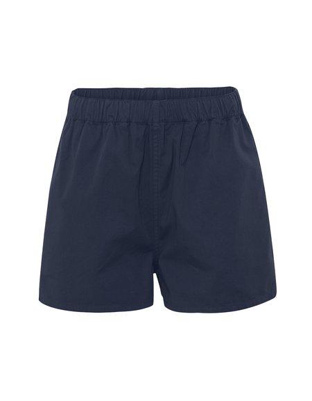 Colorful Standard Pantalón Short de Mujer Organic Twill - Navy Blue