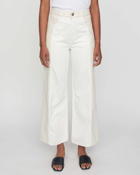 JUST FEMALE Calm Jeans in Off White Mix