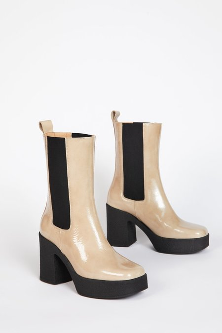 """""""INTENTIONALLY __________."""" BOSSY Boot - Beige"""