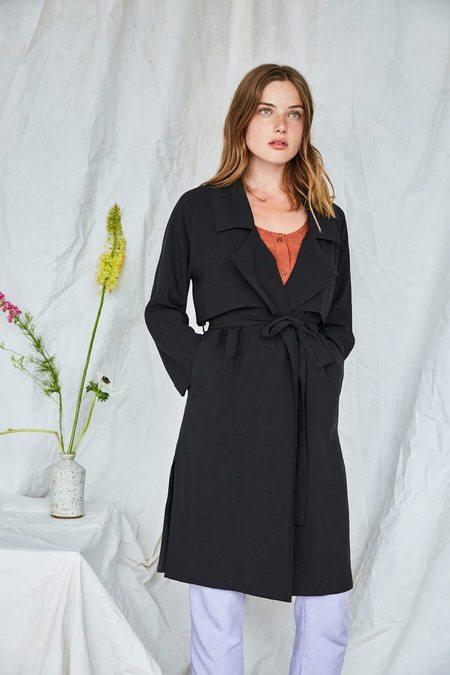 Eve Gravel Bal Masqué Trench Coat
