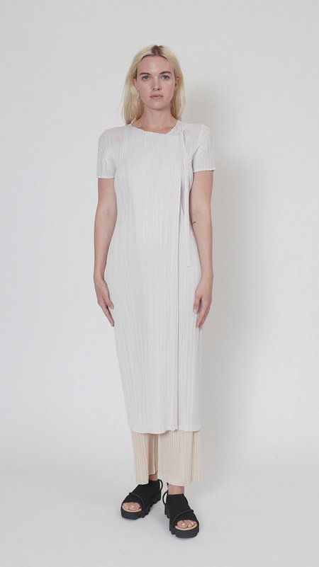 Issey Miyake Pleats Please May Monthly Colors Dress - Light Pink