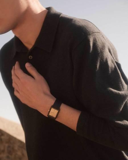 Breda Virgil Watch - Black/Gold