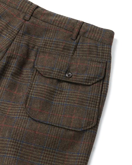Engineered Garments Carlyle Pant - Olive/Brown