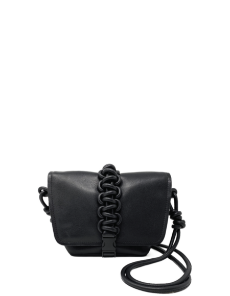 KARA Mini Switch Bag - Black