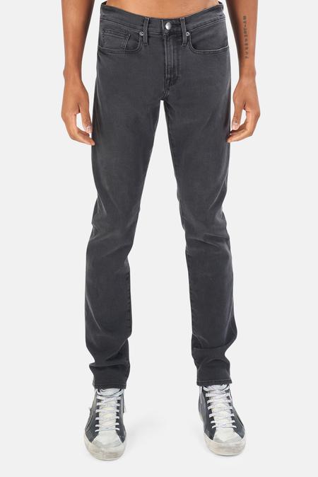 FRAME Denim L'Homme Slim Jeans - fade to grey
