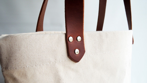 The Stowe Market Tote Natural