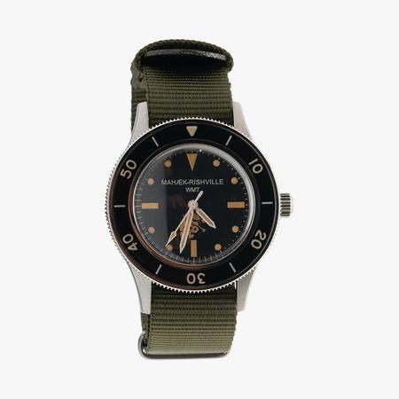 Maharishi Riverine Diver Watch - Steel