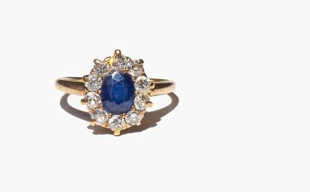 Kindred Black Caresse Ring - 14k gold