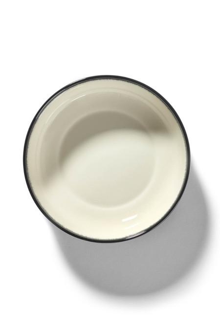 Ann Demeulemeester DÉ Var A High Plate - Off-White/Black