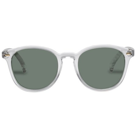 Unisex Le Specs bandwagon Sunglasses - crystal clear