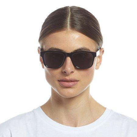 Unisex LeSpecs Hamptons hideout Sunglasses - black
