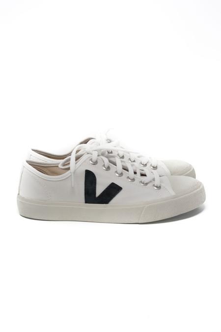 VEJA Wata Sneaker in White & Black