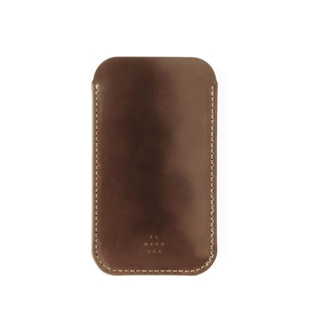 Cordovan iPhone Sleeve - Bourbon