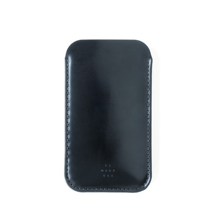 Cordovan iPhone Sleeve - Navy