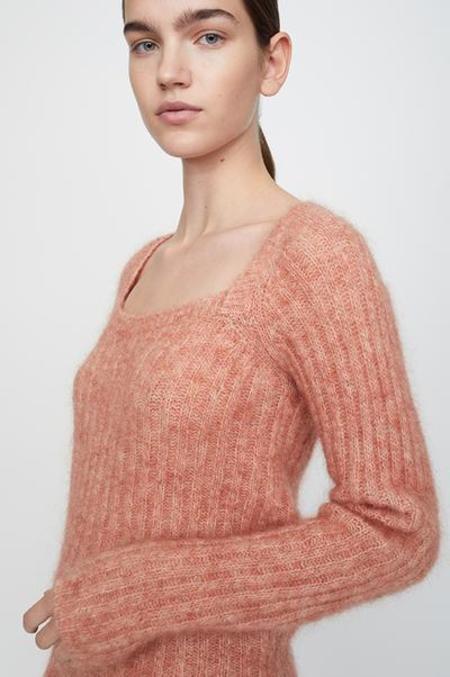 Just Female Lytt Knit Blouse - Ginger Spice