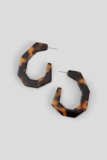 Rachel Comey Baby Factor Earrings - Tortoise