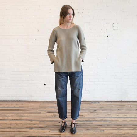Lauren Manoogian Rib Tunic Clay
