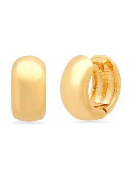 tai Chubby Hinged Huggies earrings - Gold