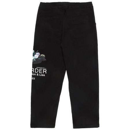 PLEASURES Power Beach Pant - Black