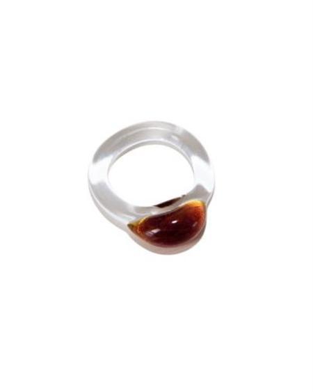 Jean Riley Moon Orb Ring