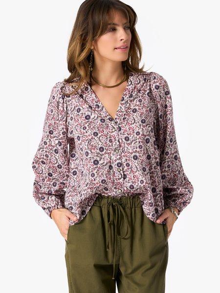 Xirena Sadie Shirt - Ivory Blossom
