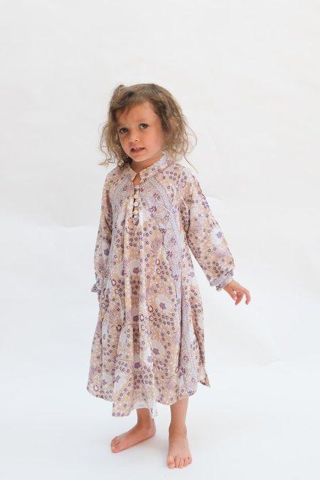 Natalie Martin Kids Fiore Maxi dress - Amethyst Vintage Flowers