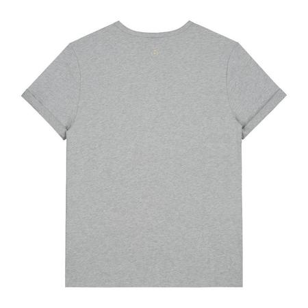 Unisex gray label adult s/s pocket tee - grey melange