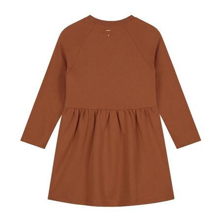 Kids gray label dress - autumn