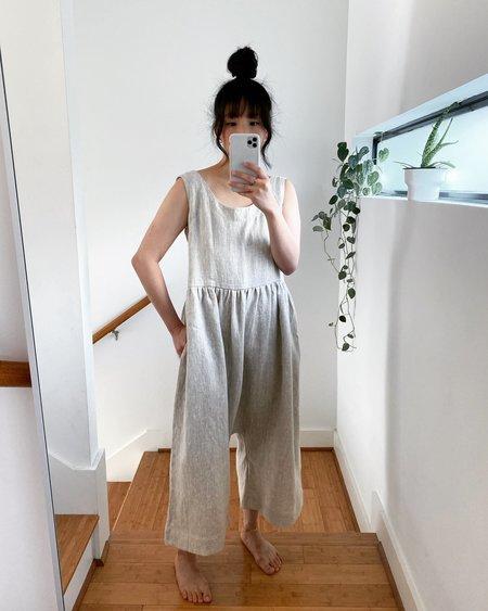 Lauren Winter Esme Linen Jumpsuit - Flax