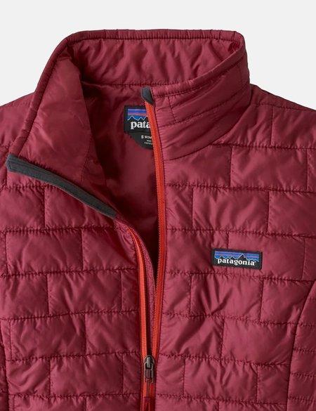 Patagonia Womens Nano Puff Jacket - Roamer Red