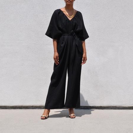 Mara Hoffman Sunniva Jumpsuit - Black