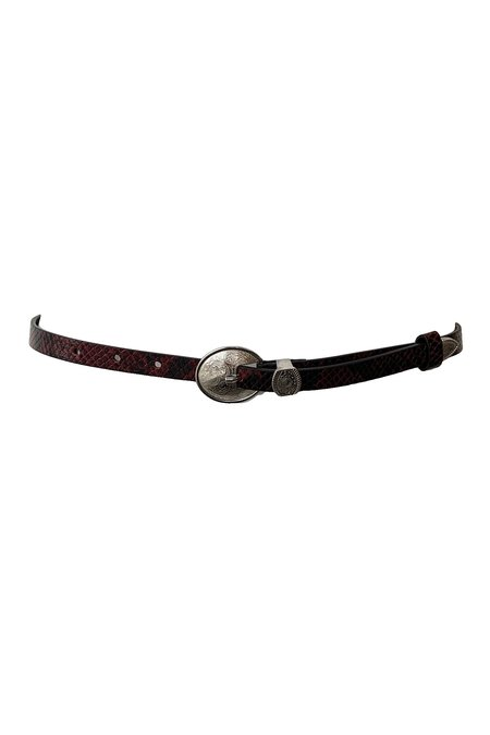 Rachel Comey Jewelry Western Belt - Red