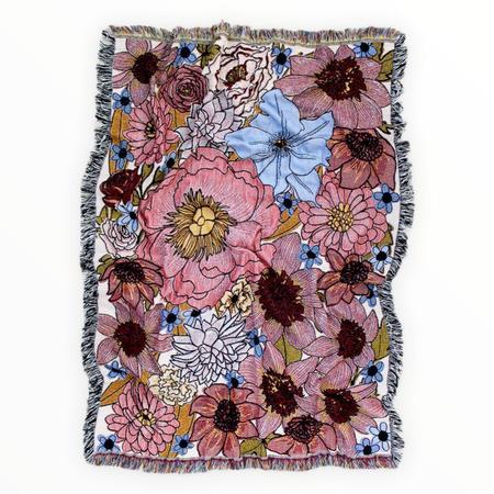 Calhoun & Co. Dream Garden Woven Tapestry Blanket - MULTI