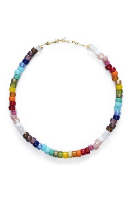 Anni Lu Big Nuanua Necklace - Rainbow